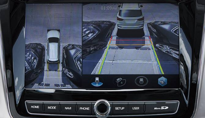 3D AROUND-VIEW MONITORING SYSTEM