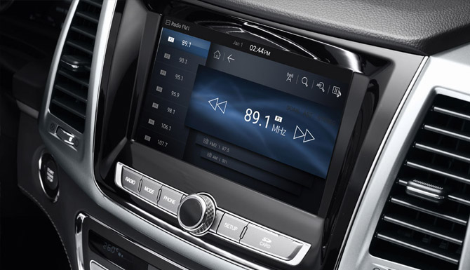 Musso Touchscreen