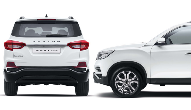 Rexton Side and Back View