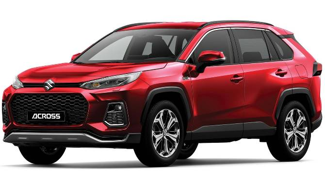 Suzuki ACross Red