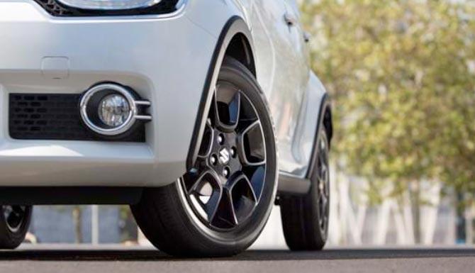 Suzuki Ignis 16 inch Alloy Wheels