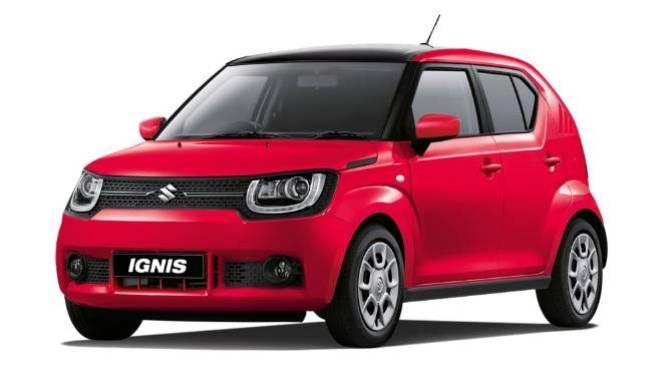 Suzuki Ignis Red And Black