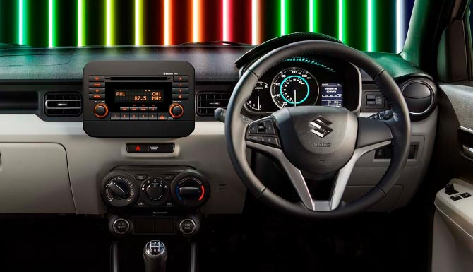 Suzuki Ignis Stylish Interior