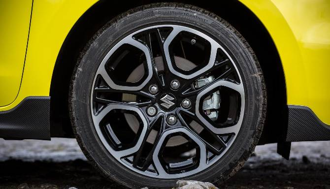 suzuki swift alloy wheel