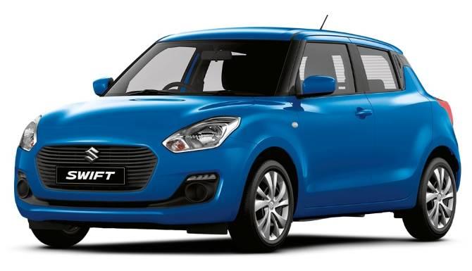 Suzuki Swift Blue