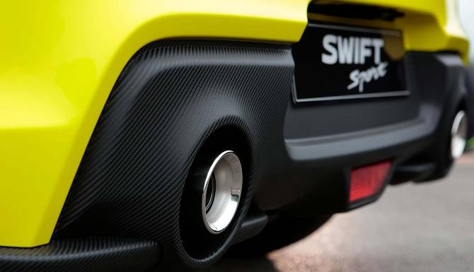 suzuki swift dual exhaust