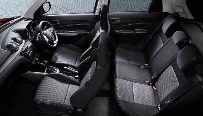 Suzuki Swift Interior Design