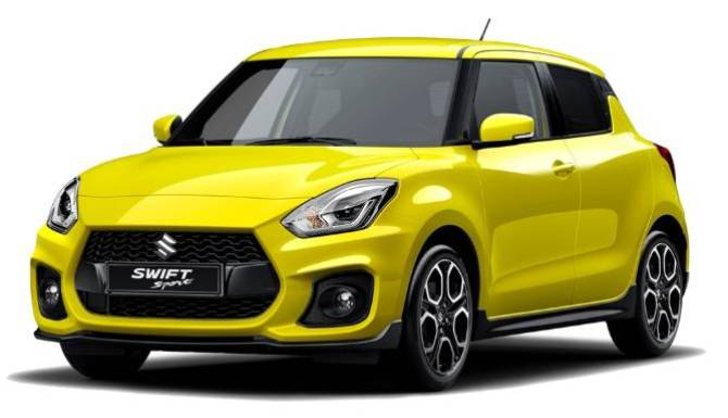 Suzuki Swift Sport Yellow