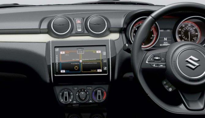 Suzuki Swift Stunning Interior