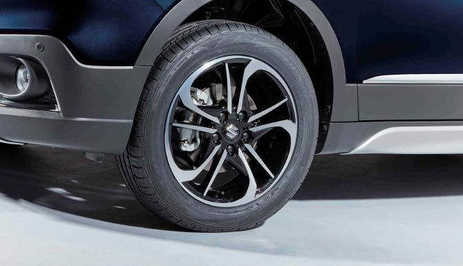 Suzuki SX4 S-Cross 17 Inch Allow Wheels