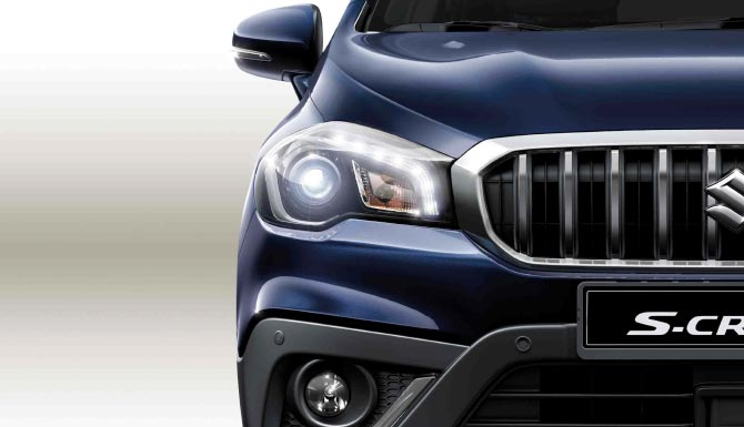 Suzuki SX4 S-Cross LED Headlights