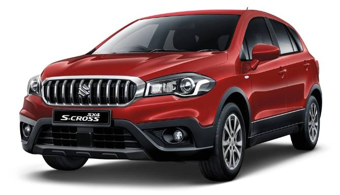 Suzuki SX4 S-Cross Red Model