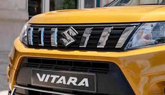 Suzuki Vitara Stylish Chrome Grille