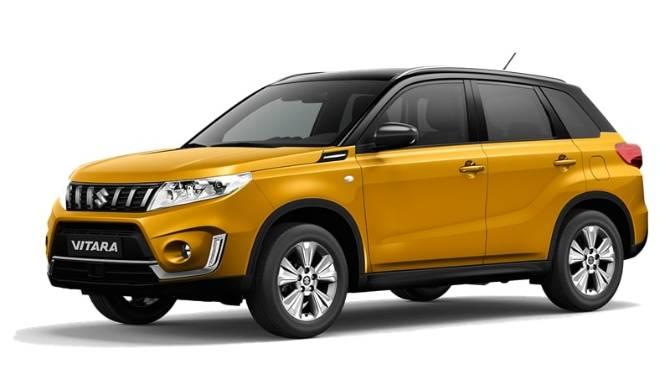 Suzuki Vitara Yellow And Black Model Image
