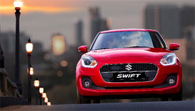 £1000 Finance Deposit Allowance on Selected New Swifts