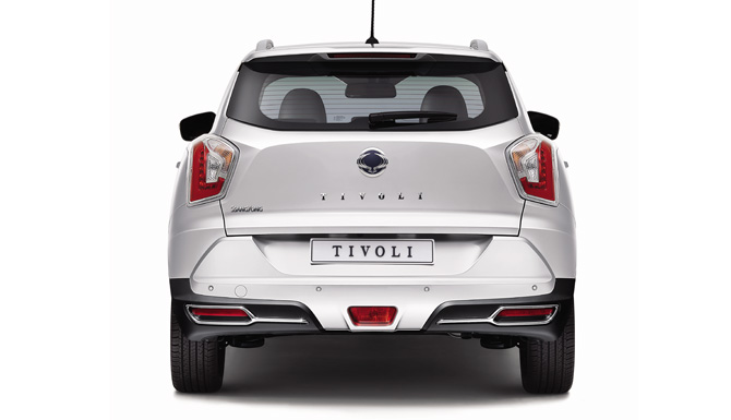 Tivoli New Car Back