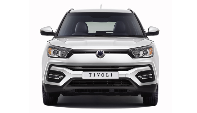 Tivoli New Car Front Image