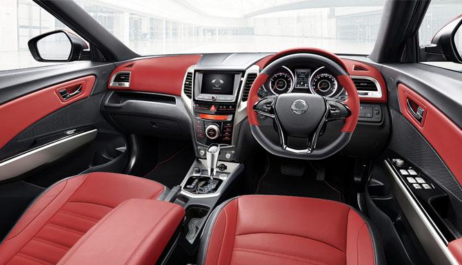 Tivoli XLV Red Interior